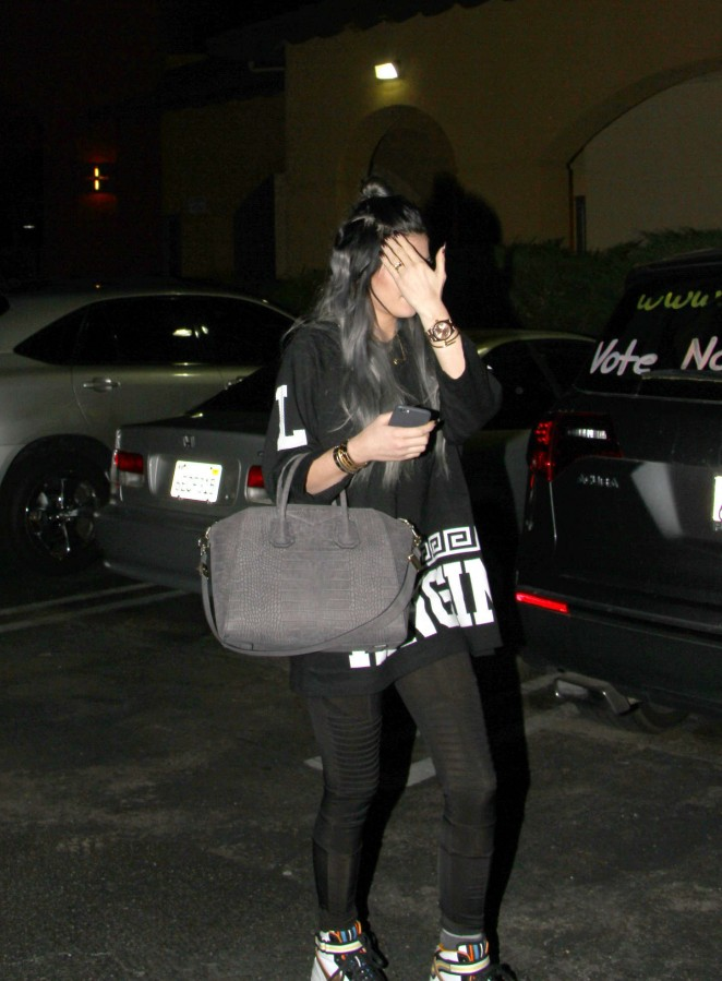 Kylie Jenner in Spandex -08