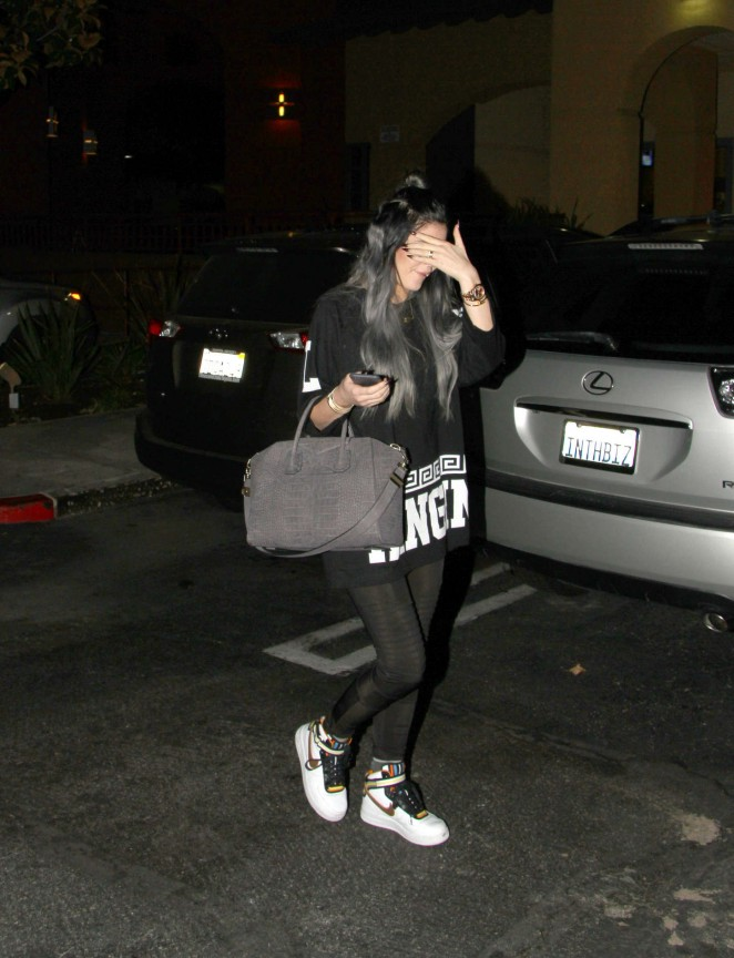 Kylie Jenner in Spandex -13