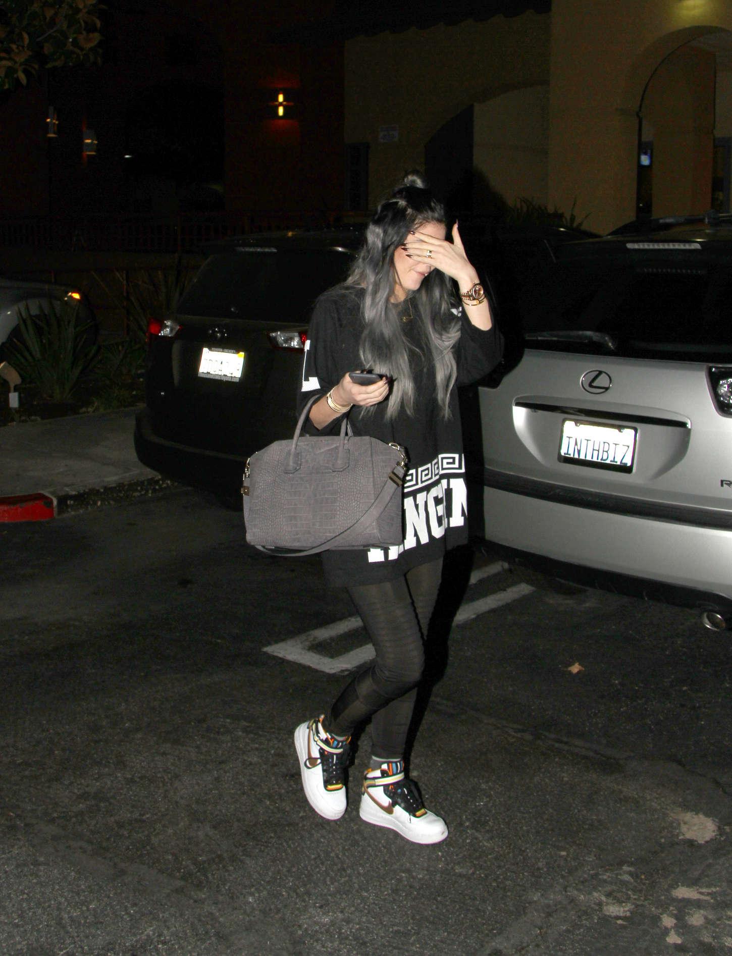 Kylie Jenner 2014 : Kylie Jenner in Spandex -13