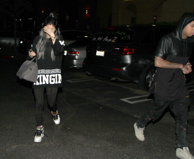 Kylie Jenner in Spandex -14