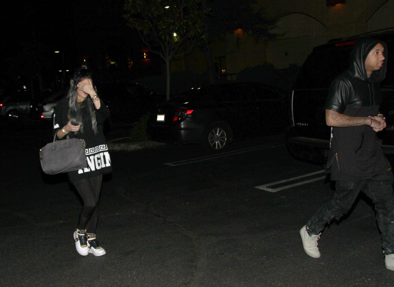 Kylie Jenner 2014 : Kylie Jenner in Spandex -15