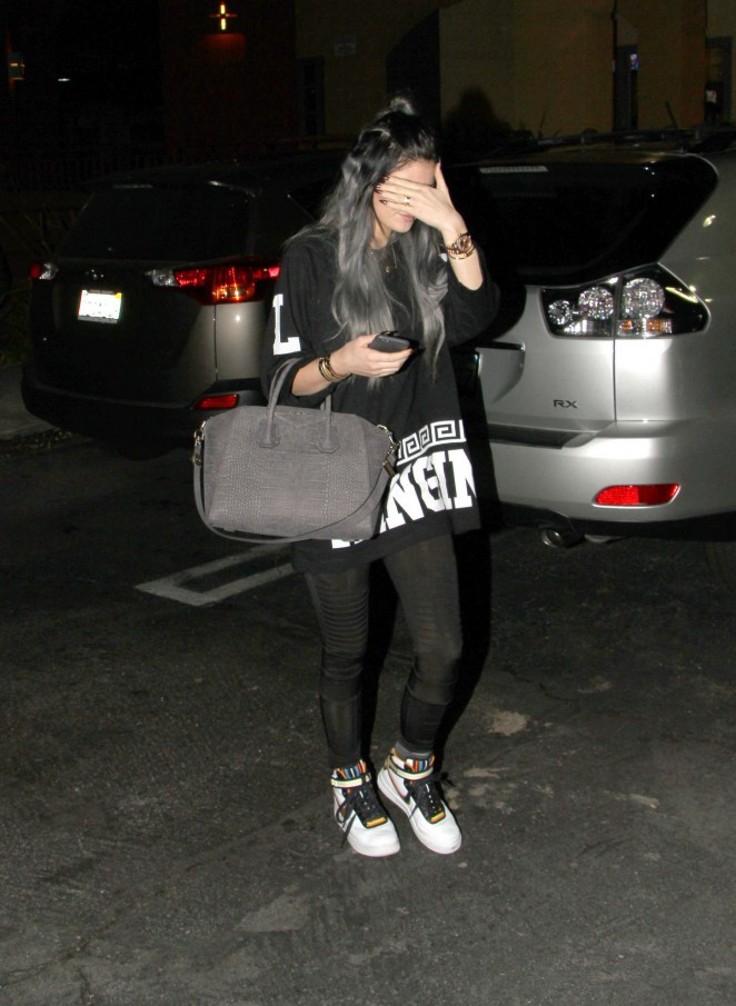 Kylie Jenner 2014 : Kylie Jenner in Spandex -19