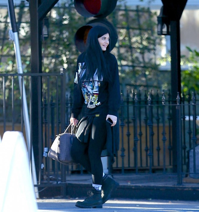 Kylie Jenner – Out and about in LA