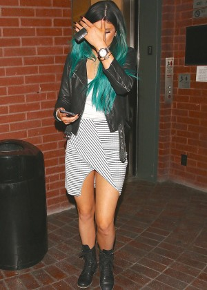 Kylie Jenner in Short Dress Leaves a Doctors Office in LA