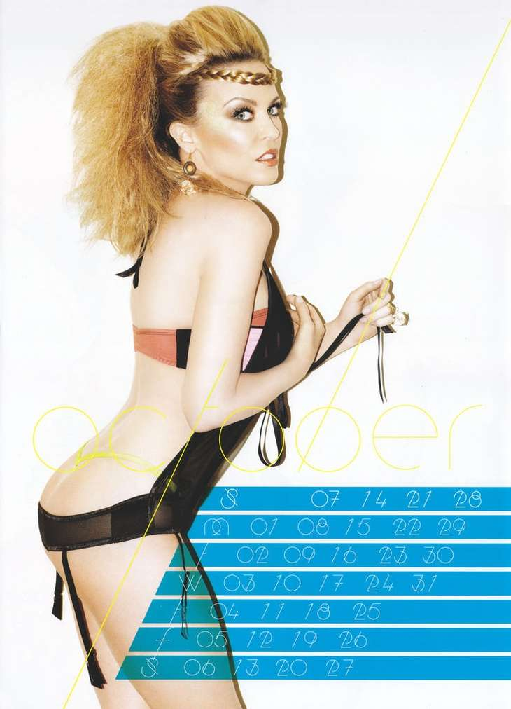 Kylie Minogue Hot 2012 Calendar 04 Gotceleb