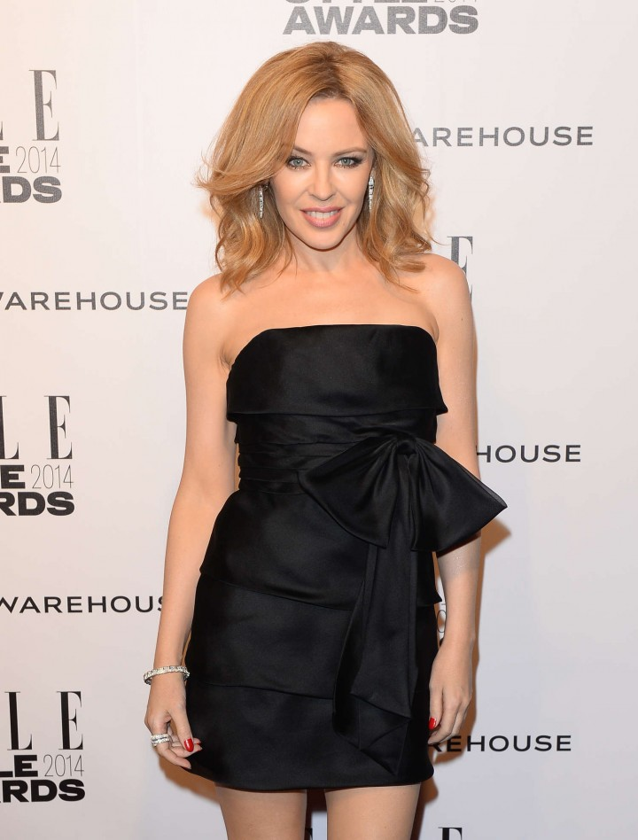 Kylie Minogue – 2014 Elle Style Awards in London