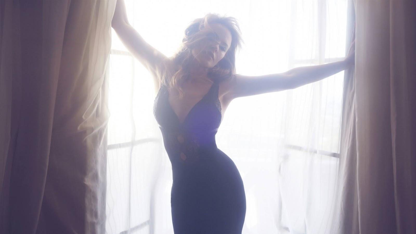 Kylie Minogue 45th Birthday Photoshoot In London Gotceleb