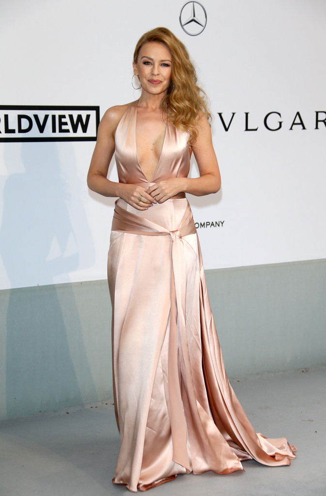 Kylie Minogue - amfAR 2014 -01