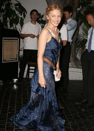 Kylie Minogue At Chateau Marmont in Los Angeles