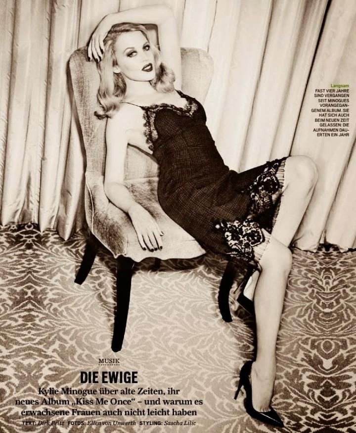 Kylie Minogue 2014 : Kylie Minogue: GQ Germany -02