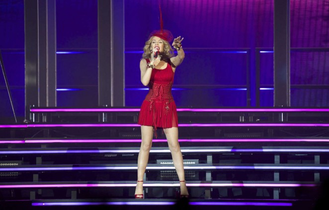 Kylie Minogue: Kiss Me Once Tour in Madrid -26 – GotCeleb Kylie Minogue Kiss Me Once Photoshoot