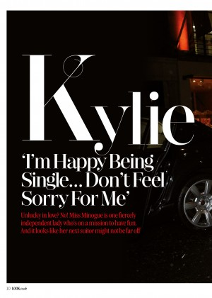Kylie Minogue: Look Magazine -01