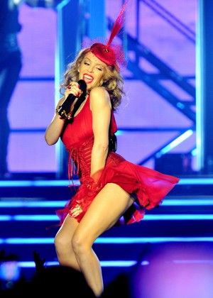 Kylie Minogue - Performs Live In concert at the Echo Arena in Liverpool