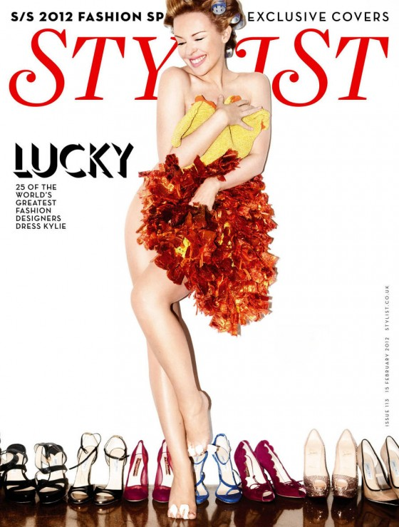 Kylie Minogue - Stylist Magazine UK February 2012-08