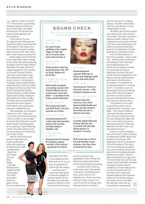Kylie Minogue: Stylist UK-10