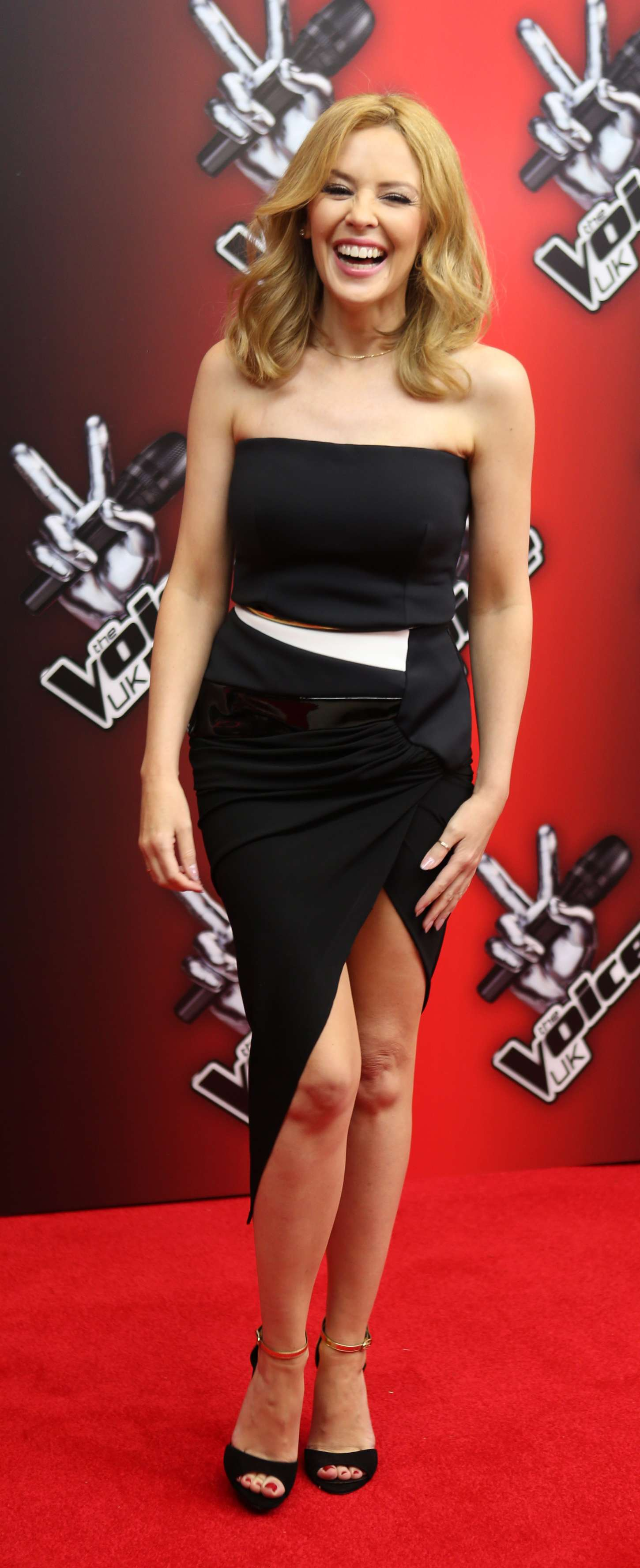 back to full gallery kylie minogue the voice uk launch in london