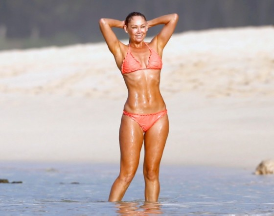 Kym Johnson - Bikini Candids in Hawaii -02