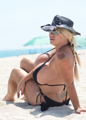 Lacey Wildd Bikini Photos: 2014 in Miami -03