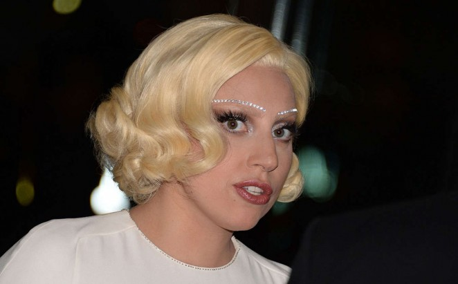 Lady Gaga: 2014 Kennedy Center Honors Party -03