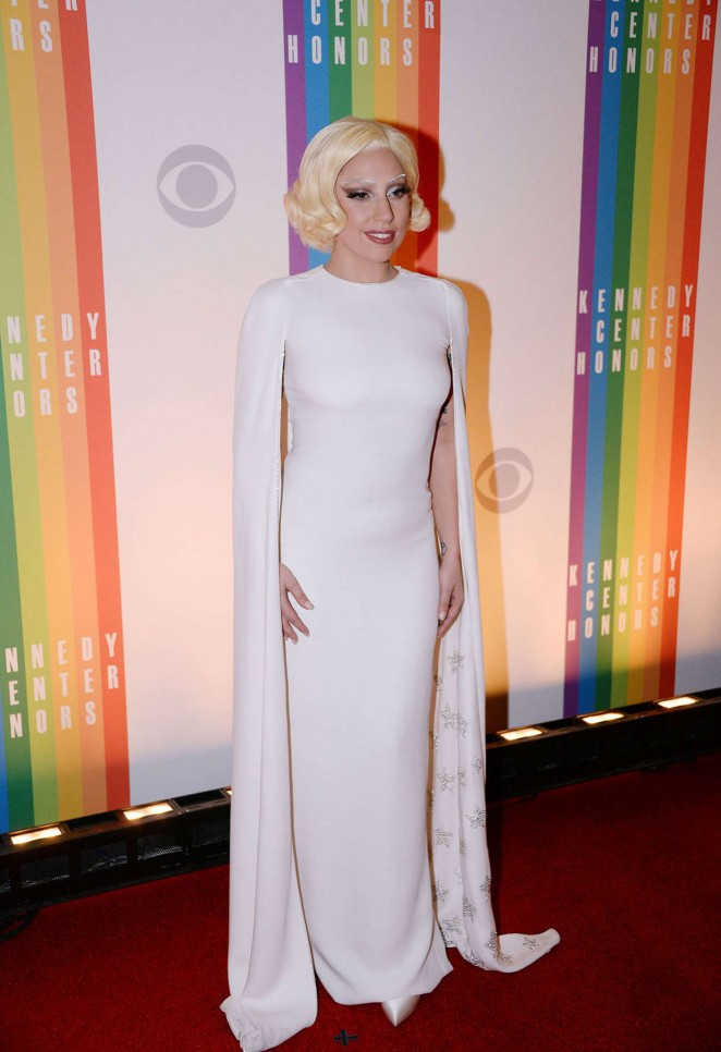 Lady Gaga: 2014 Kennedy Center Honors Party -05