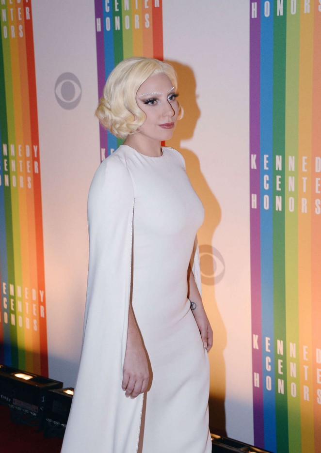 Lady Gaga: 2014 Kennedy Center Honors Party -12