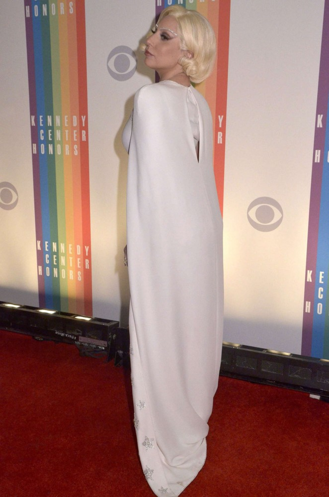 Lady Gaga: 2014 Kennedy Center Honors Party -16