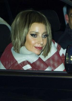 Lady Gaga at JFK Airport -06