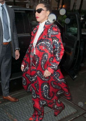 Lady Gaga - Arrives at The View in NY