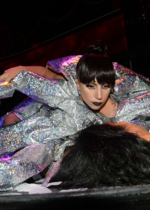 Lady Gaga at VIP Room Club -03