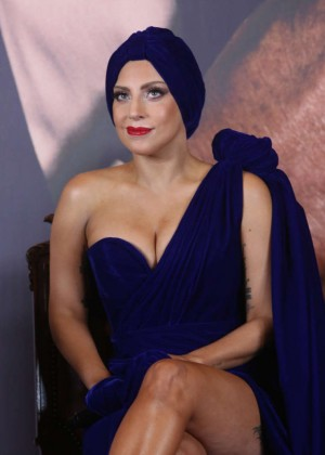 """Lady Gaga - """"Cheek to Cheek"""" Press Conference in Brussels"""