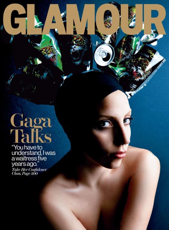 Lady Gaga: Glamour Magazine 2013 -03