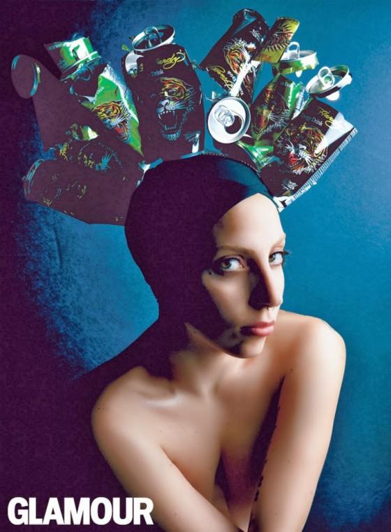 Lady Gaga: Glamour Magazine -01