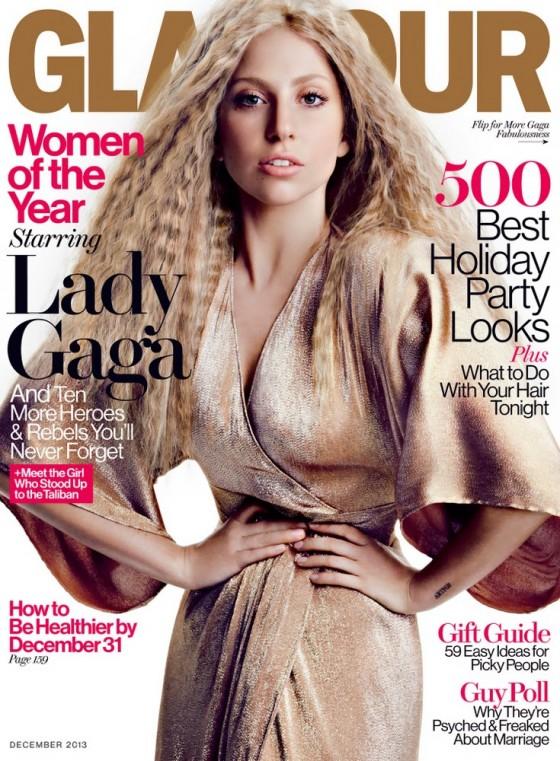 Lady Gaga: Glamour Magazine -03