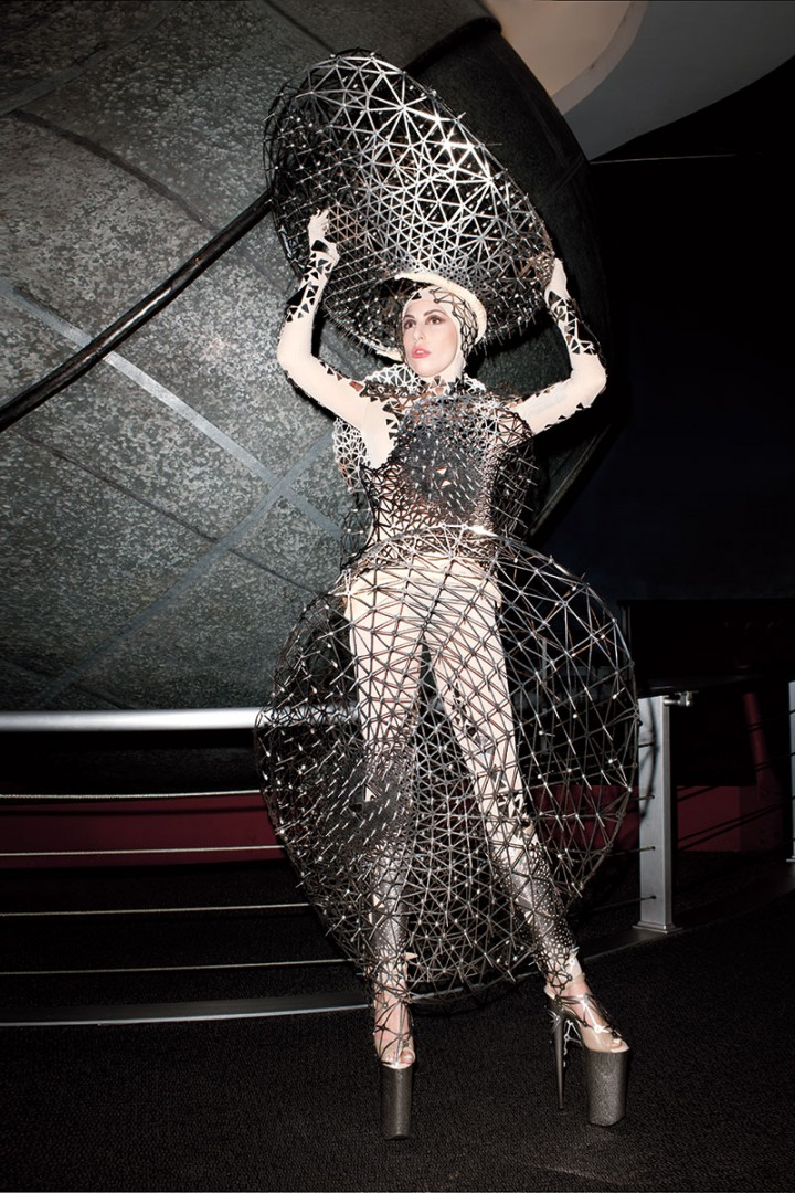 Lady Gaga: Harpers Bazaar US -01