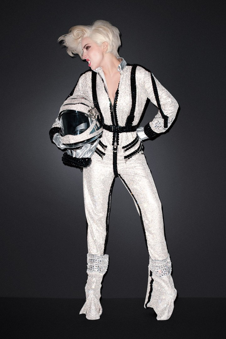 Lady Gaga: Harpers Bazaar US -05
