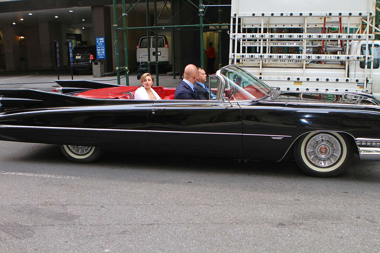 1959 cadillac lady back to full gallery lady gaga in an old school. Cars Review. Best American Auto & Cars Review