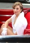 Lady Gaga in 1959 Cadillac -32