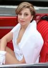 Lady Gaga in 1959 Cadillac -34