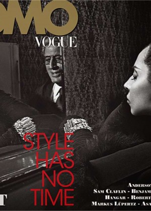 Lady Gaga and Tony Bennett - L'UOMO Vogue Magazine (November 2014)