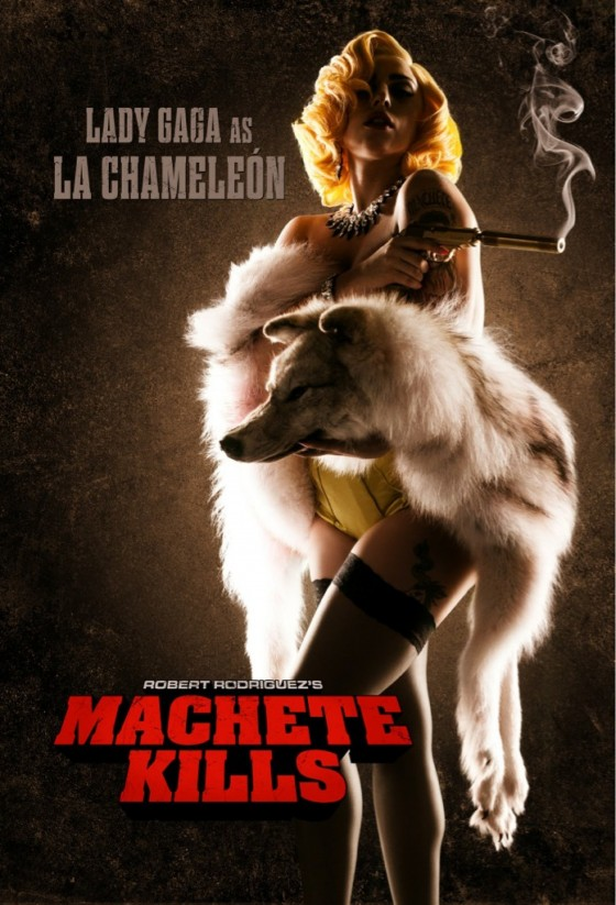 Machete Kills - Lady GaGa - Poster