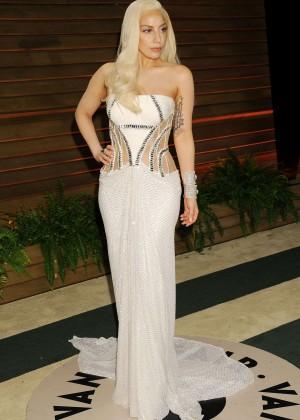 Lady Gaga: Oscar 2014 - Vanity Fair Party -01