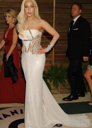 Lady Gaga: Oscar 2014 - Vanity Fair Party -03