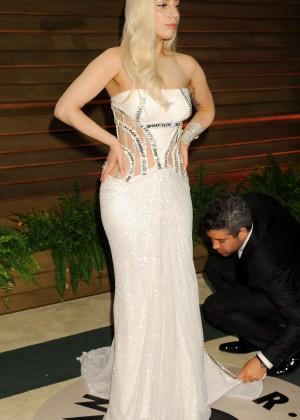 Lady Gaga: Oscar 2014 - Vanity Fair Party -04