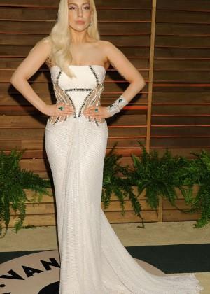 Lady Gaga: Oscar 2014 - Vanity Fair Party -06