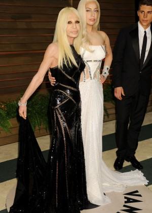 Lady Gaga: Oscar 2014 - Vanity Fair Party -07