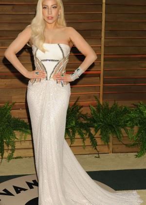 Lady Gaga: Oscar 2014 - Vanity Fair Party -08