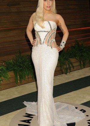 Lady Gaga: Oscar 2014 - Vanity Fair Party -09