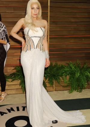 Lady Gaga: Oscar 2014 - Vanity Fair Party -12