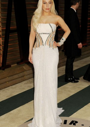 Lady Gaga: Oscar 2014 - Vanity Fair Party -13