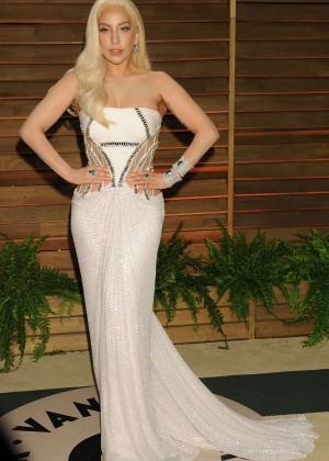 Lady Gaga: Oscar 2014 - Vanity Fair Party -15